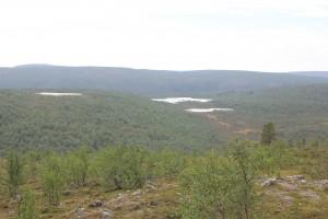 tunturijärviä
