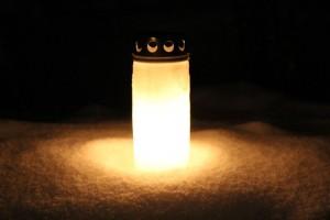 kynttilä Ettan muistolle