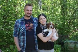Waldon (ent. Taisto) perhe Tampereelta