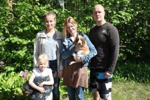 Tosca ja Toscan perhe Hämeenlinnasta